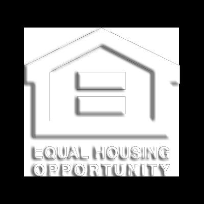 equal housing opportunity logo vector.white